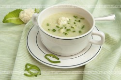 Zupa kalafiorowa na mleku