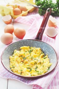 Jajecznica na zielono