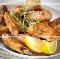 Orientalne skrzydełka kurczaka z grilla