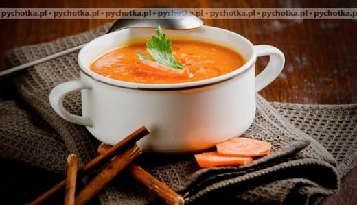 Zupa z marchewki z cebulą
