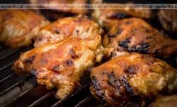 Grillowane udka z kurczaka imbirem pachnące
