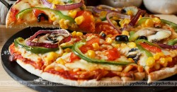 Chinesse pizza