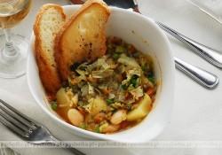 Zupa z karczochami