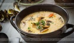 Zupa grzybowa pachnąca lasem