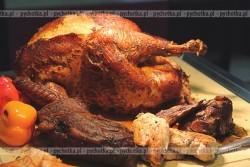 Kurczak nadziewany wątróbką i ryżem Iwony