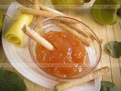 Sos z jabłek do pieczeni baraniej, schabu, kaczek, gęsi