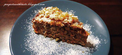 Projekty ze smakiem / Projects with taste: Ciasto marchewkowe / Carrot cake